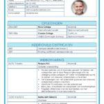CV Voorbeeld Leicester